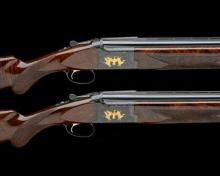 BROWNING A COMPOSED PAIR OF 12-BORE 'CITORI GRADE 7' SINGLE-TRIGGER OVER AND UNDER EJECTORS, serial no. 16509NM953 / 14327NY953,