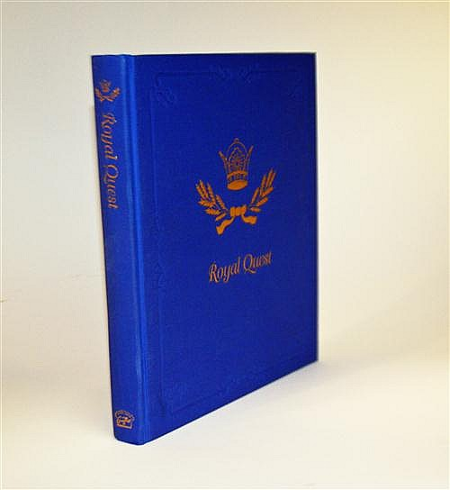 ** BILL QUIMBY ROYAL QUEST 'THE HUNTING SAGA OF H.I.H. PRINCE ABDORREZA OF IRAN',