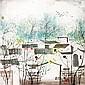 吳冠中(1919 - 2010)春到江南 Wu Guanzhong Spring Time