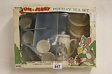 Vintage box Tom and Jerry childs Teaset
