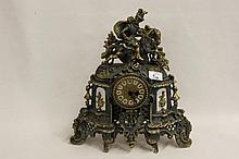 French Reproduction Mantle Clock