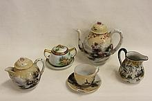 Large collection of Japanese Teasets