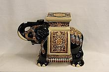 Ceramic Elephant Planter