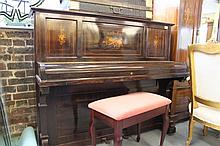 John Broadwood & Sons Piano with decorative Inlay