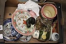 Collection of glass and china ware
