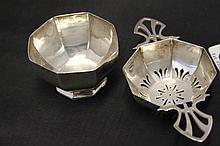 Silver hallmarked Georgian Tea Strainer