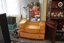 1930's Dressing table with mirror