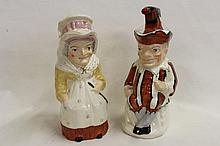 Vintage Punch and Judy Pots