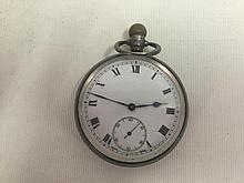 Gentlemen's Silver Pocket Watch