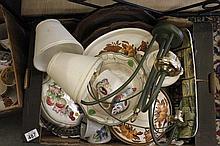 Mixed box of china ware