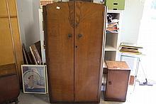 1930's Oak Wardrobe