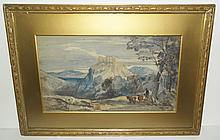Watercolor signed William Muller