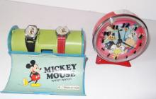 Mickey Mouse watches/Warner Bros. alarm clock