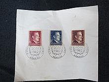 WW2 German 1st edition Adolf Hitler stamps