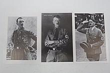 WW2 German postcards x 3 of Adolf Hitler