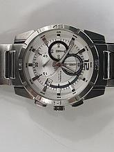 A Fossil Chronograph with subsidiary dates,