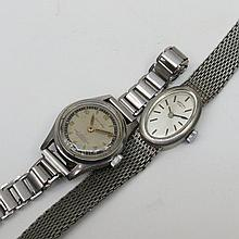 A ladies Rotary wrist watch with an oval head and