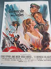 ''Crepuscule des Aigles (The Blue Max)'' - Original cinema poster for the WWI period film starring J