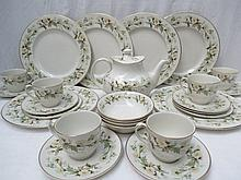 A Royal Doulton Clairmont pattern part service,