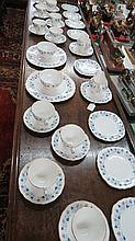 A Ridgeway ''Royal Vale'' part tea service for