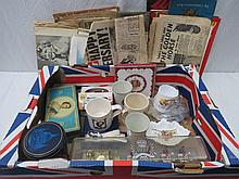 A collection of Royal commemorative items