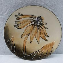A Moorcroft small dish with cornflower design