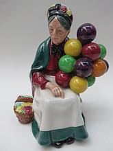 A Royal Doulton 'Old Balloon Seller' marked