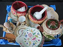 A quantity of sundry ceramics including a Torquay