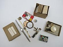 Two ladies dress bracelet watches and a collection