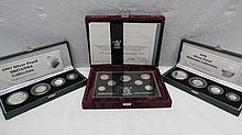 Silver proof 1996 silver anniversary coin set no.