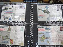 GB stamps 143 RAF and Navy Commemorative covers in