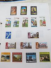 New Zealand mint & used collection on pages in