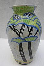 A Radford baluster shaped vase decorated with