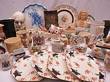 A George VI Coronation mug together with a small