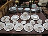 A part tea and dinner service by Colcough,