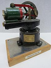 A scale model live steam stationary engine, single
