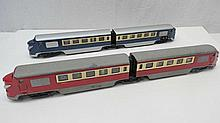 A pair of Continental powered passenger cars by