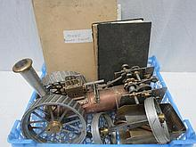 An 11'' scale traction engine 'Minnie' part