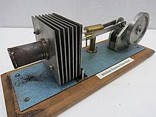 A scale model hot air engine, Stirling engine