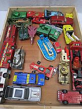 A quantity of model commercial military and racing