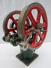 A scale model live steam engine, single piston,