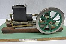 A scale model live steam engine Scott vacuum