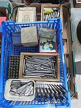 A quantity of lathe bits etc.