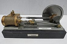 A scale model live steam stationary Mill engine,