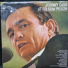 Johnny Cash at Folsom Prison LP and rare tour