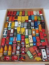 A quantity of Matchbox model commercial vehicles,