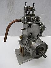 A launch marine engine by Irvine, twin valved with