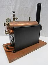 A scale model live steam boiler, as made by