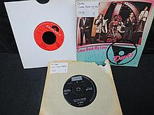 A large collection of 45rpm records, various