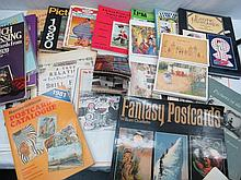 A quantity of catalogues and books containing